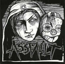 Load image into Gallery viewer, ASSFAULT / CURSE OF THE NATION split 7""