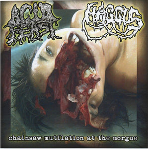 ACID FEAST / HAGGUS split 7""