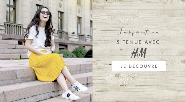 Inspiration mode : 5 tenues H&M - blog mode Once Again