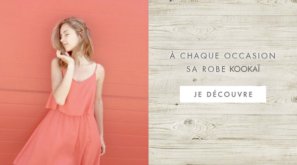 A chaque occasion sa robe Kookai - blog mode Once Again