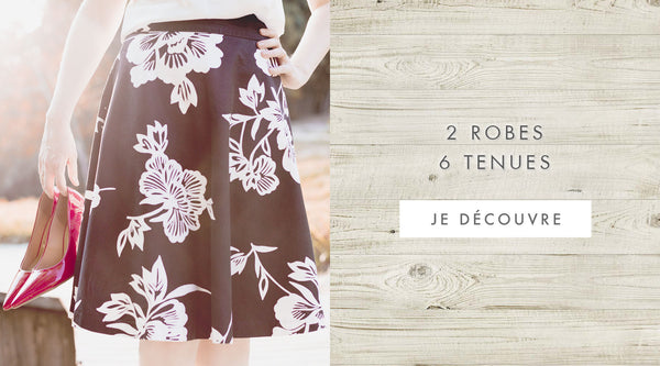 inspiration tenues - robe Naf Naf - blog mode Once Again