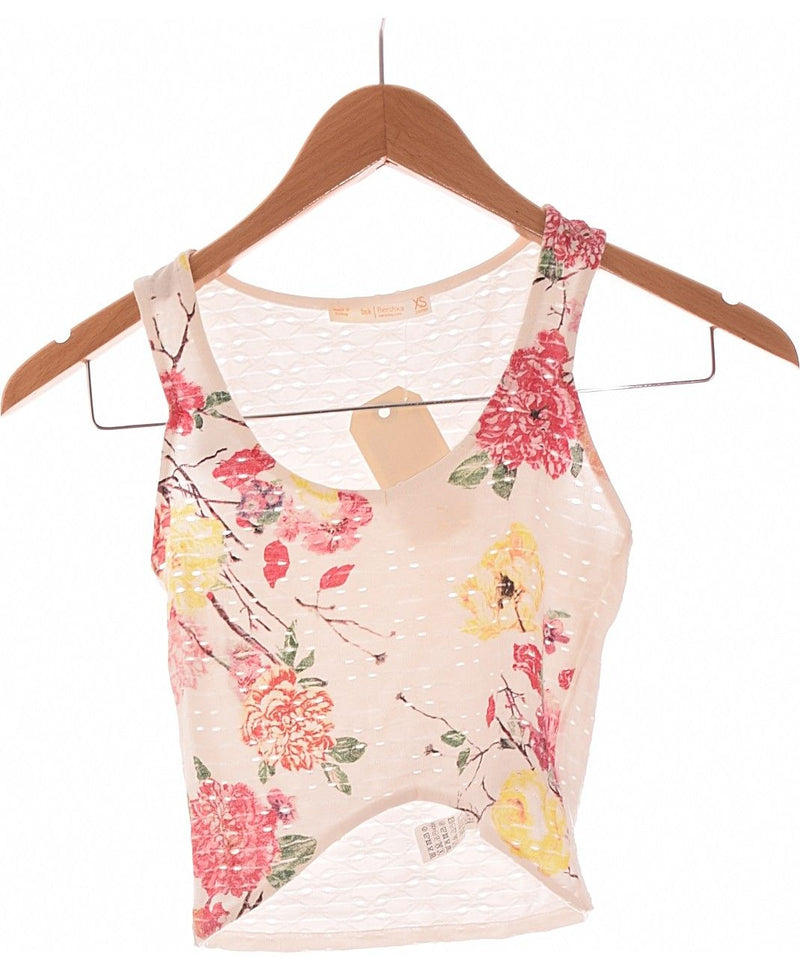 249042 Tops et t-shirts BERSHKA Occasion Once Again Friperie en ligne