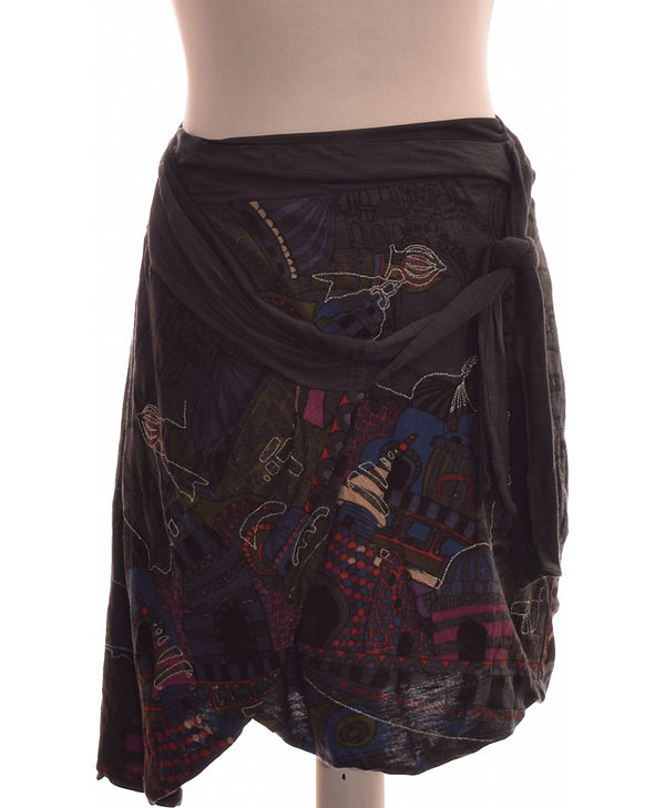 263703 Jupes DESIGUAL Occasion Once Again Friperie en ligne