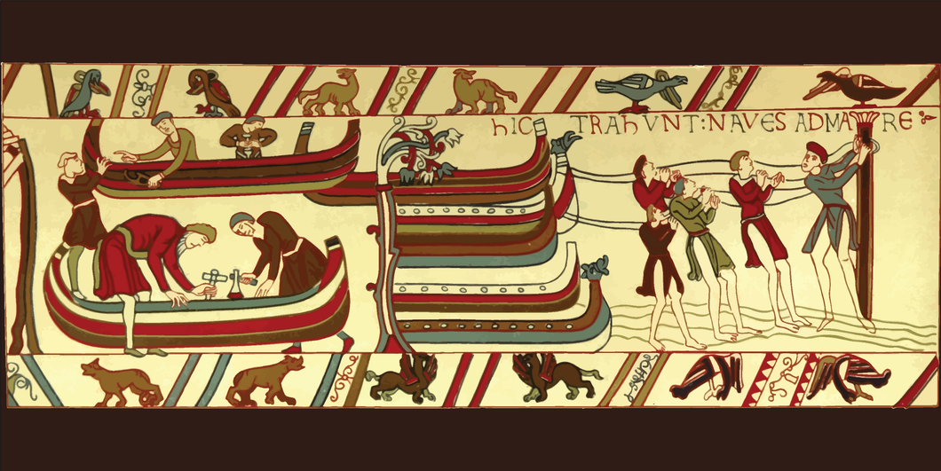 8' x 4' Polyester Wall - Bayeux Tapestry #2