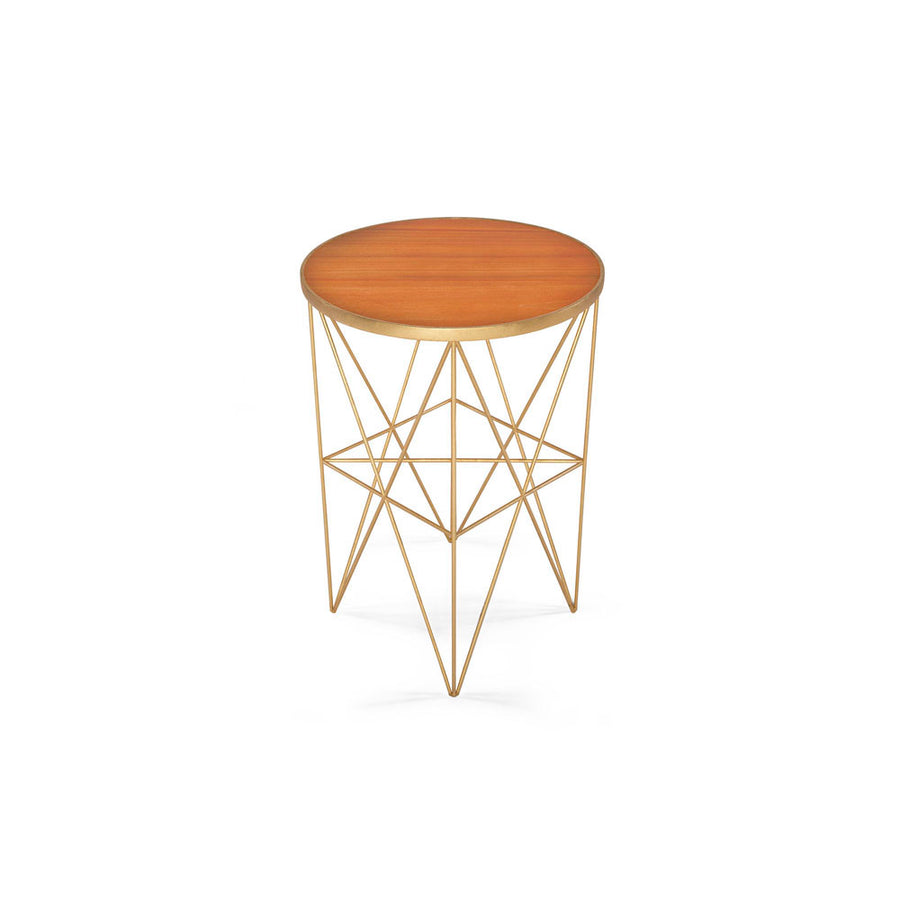 MONTEREY TALL SIDE TABLE - Badgley Mischka Home
