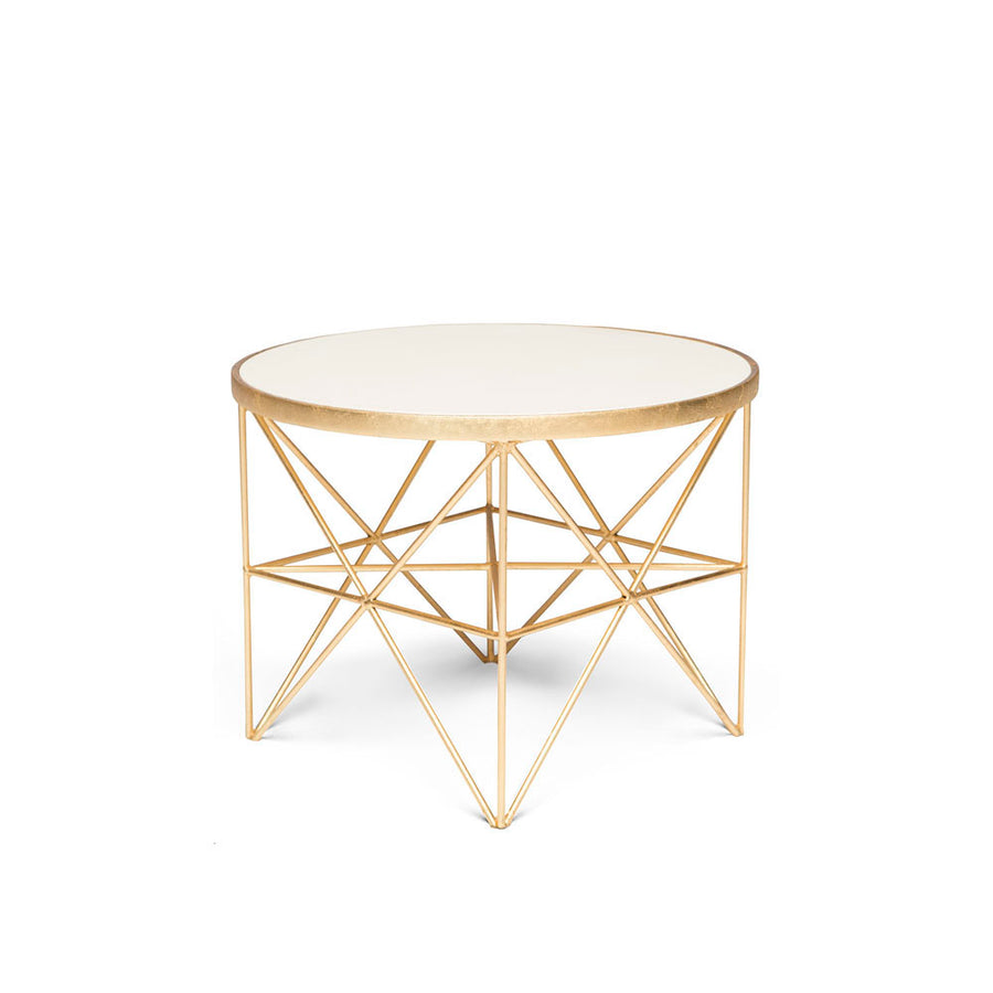 MONTEREY SHORT SIDE TABLE - Badgley Mischka Home