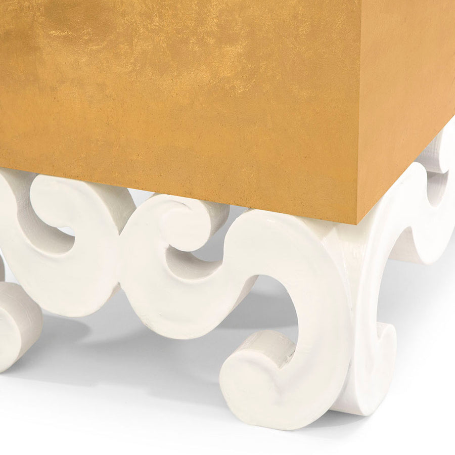 MONTEREY SCROLL SIDE TABLE - SALE - Badgley Mischka Home