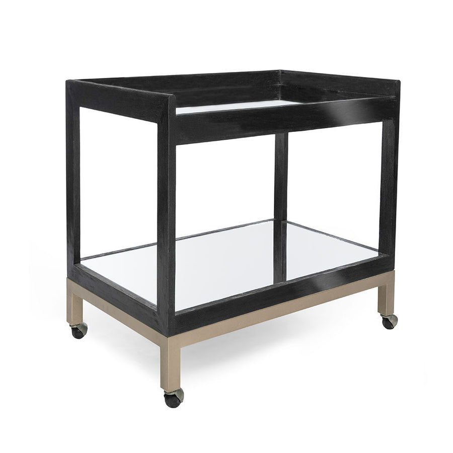 DOHENY BAR CART - Badgley Mischka Home