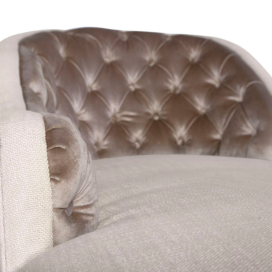 CRAWFORD CHAISE - Badgley Mischka Home