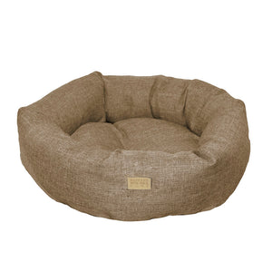 "WHISKEY PET BED 14"" (SAND)"