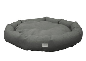 "WHISKEY PET BED 25"" (GREY)"