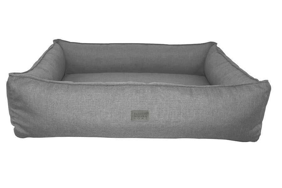 WALTON PET BED - EXTRA LARGE (GREY)
