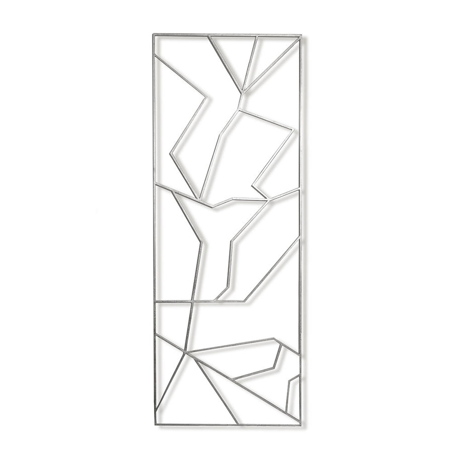VERONICA II ROOM PANEL (SILVER) - Badgley Mischka Home