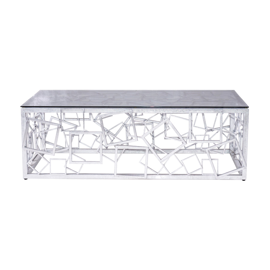 MONTEREY COCKTAIL TABLE (SILVER)