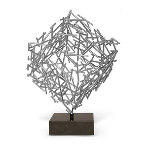 CAGNEY SCULPTURE (SILVER)
