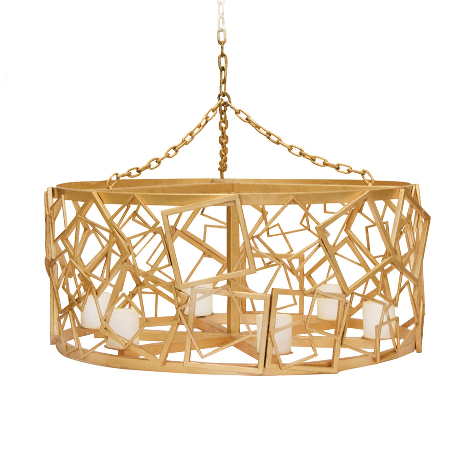 BALBOA CANDLE CHANDELIER - Badgley Mischka Home