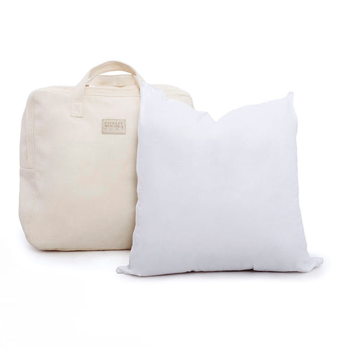 WHITE GOOSE DOWN PILLOW - EURO