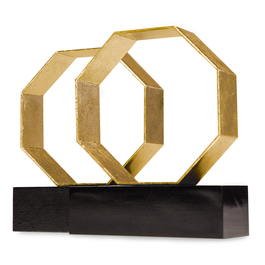 DEAN BOOKENDS (GOLD) - Badgley Mischka Home