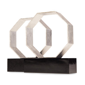 DEAN BOOKENDS (SILVER)