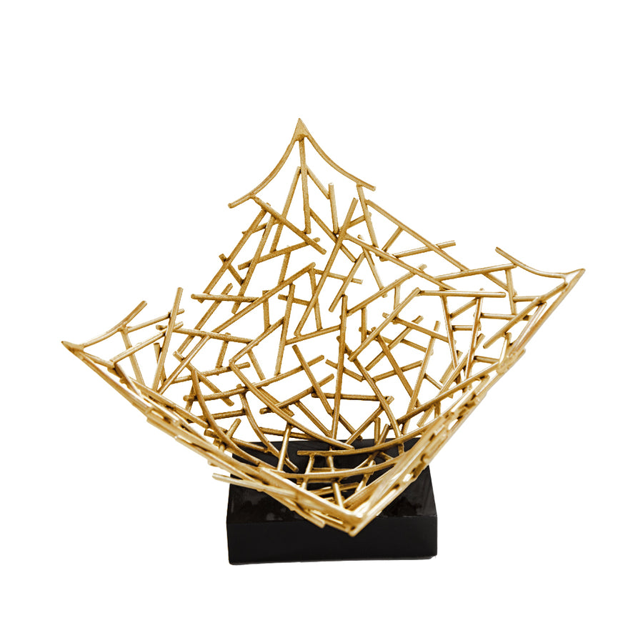 GRANT SCULPTURE (GOLD) - Badgley Mischka Home