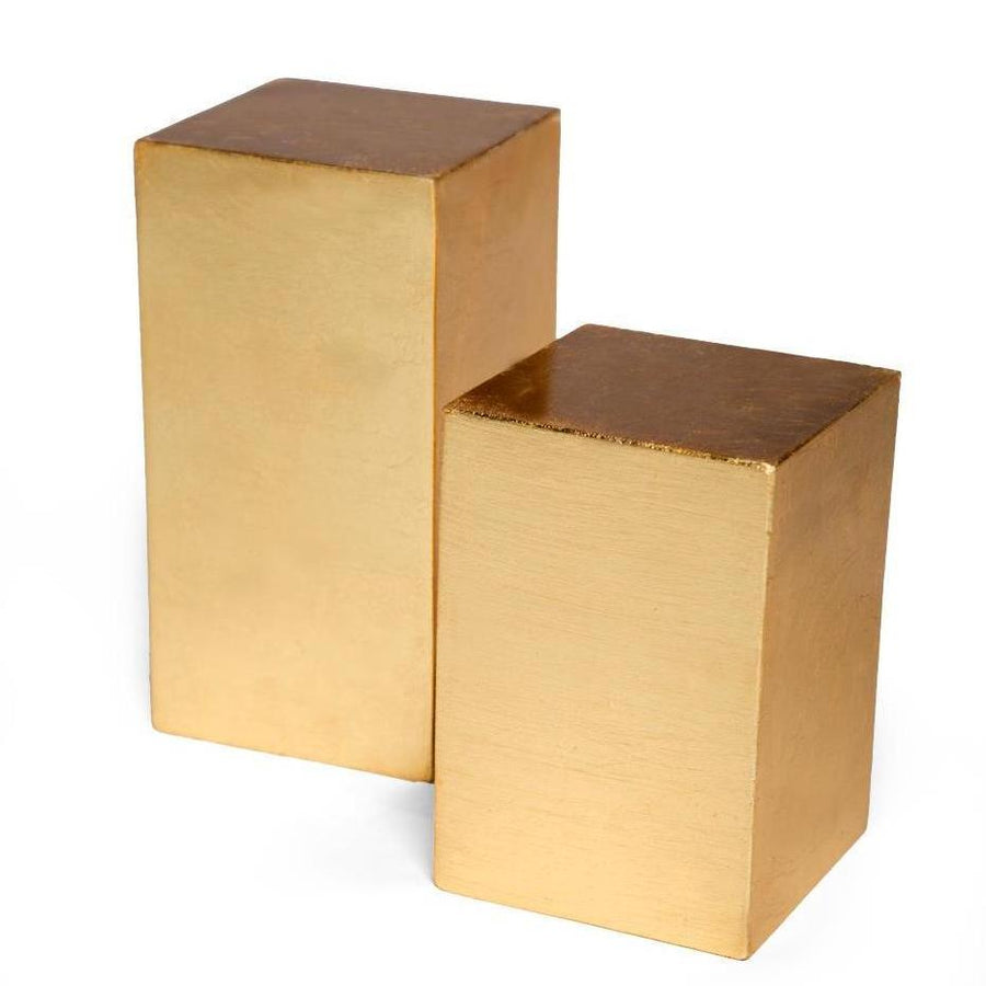 JANE BOOKENDS (GOLD) - Badgley Mischka Home