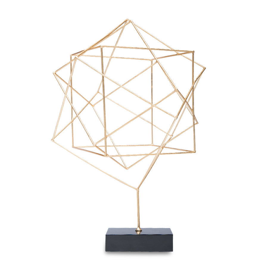 REYNOLDS SCULPTURE (GOLD) - Badgley Mischka Home