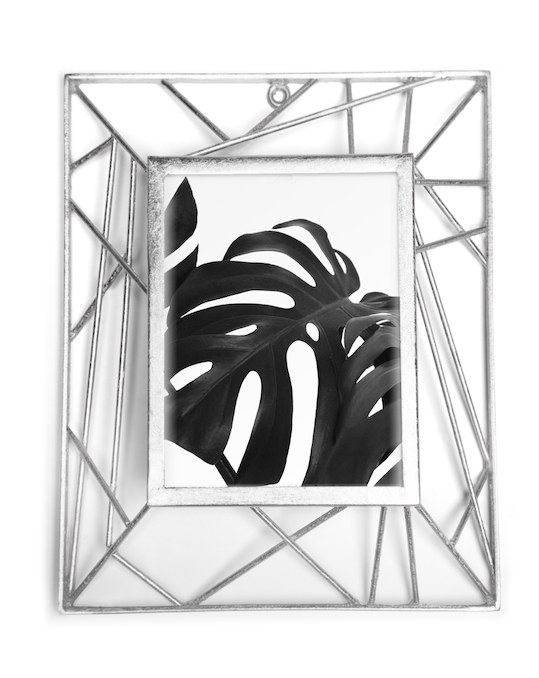 KELLY PHOTO FRAMES 5X7 (SILVER) - Badgley Mischka Home