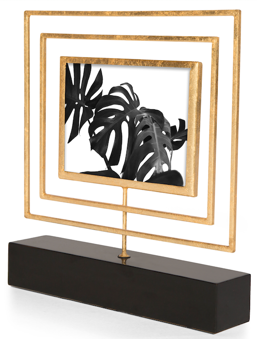 LUCILLE PHOTO FRAME 5X7 (GOLD) - Badgley Mischka Home