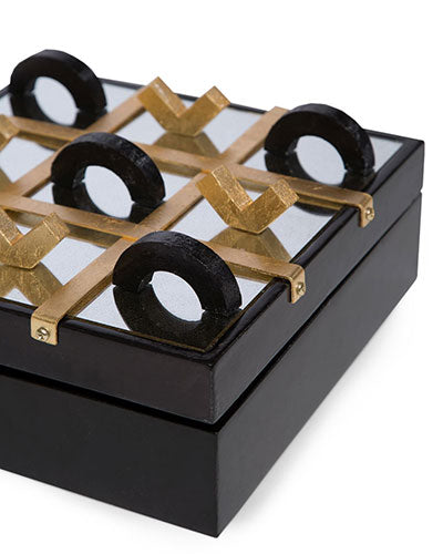SHIRLEY TIC TAC TOE (GOLD)