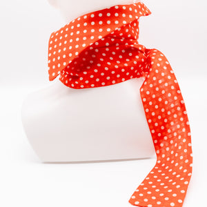Vilnius Spring // Orange Dots // Jaana Moona Neckwear
