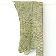 Load image into Gallery viewer, Sydney // Green Bambu // Vintage Kimono Neckwear
