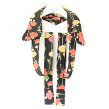 Load image into Gallery viewer, Handcrafted unique neckwear for women made from Japanese vintage kimono silk.