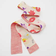 Load image into Gallery viewer, Skibotn // Pastel Flowers // Skinny Scarf