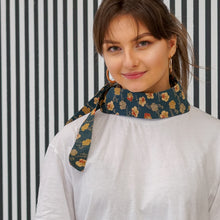 Load image into Gallery viewer, Vilnius // Cherry Haori // Vintage Kimono Neckwear