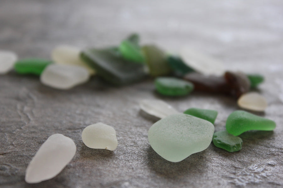 Where Sea Glass Comes From