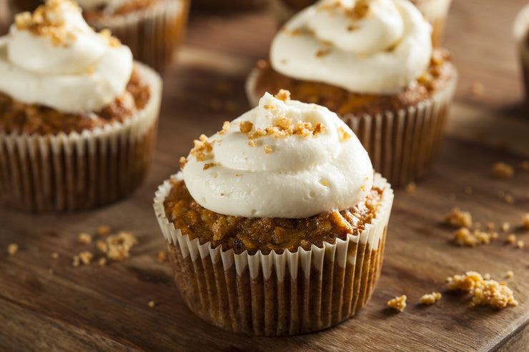 Vegan Carrot Cupcake by Fork My Life