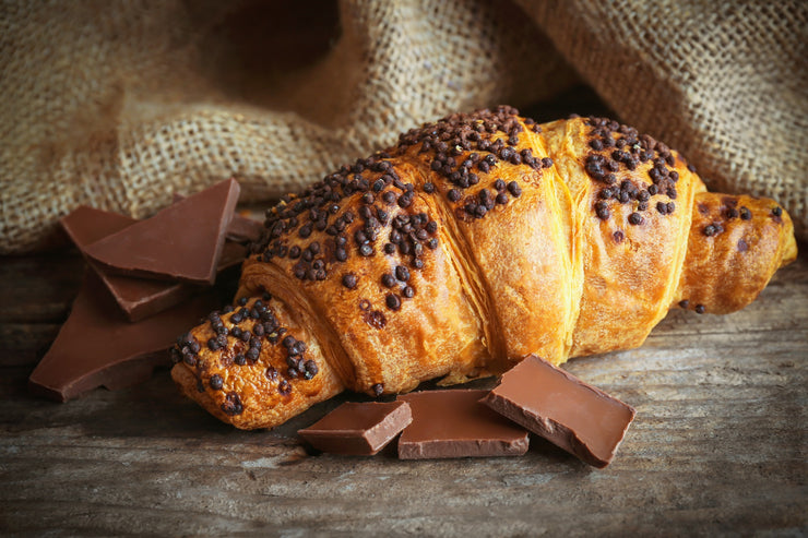 Vegan Chocolate Croissant from Fork My Life