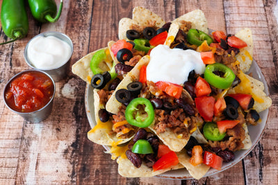 Vegan Loaded Nachos by Fork My Life