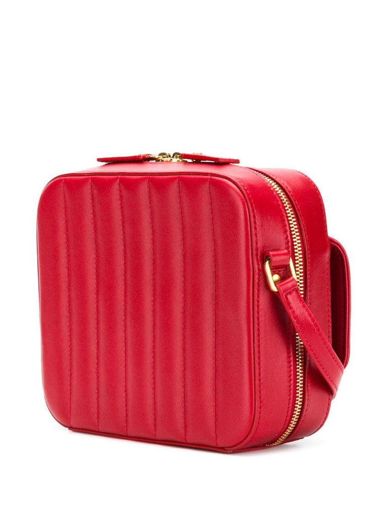 YSL VIcky Toy camera bag lamb rouge