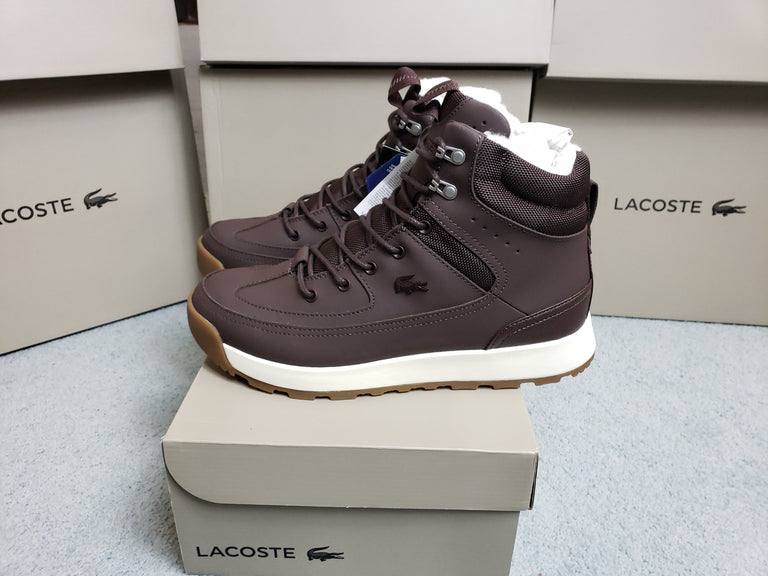 Lacoste urban breaker dark brown