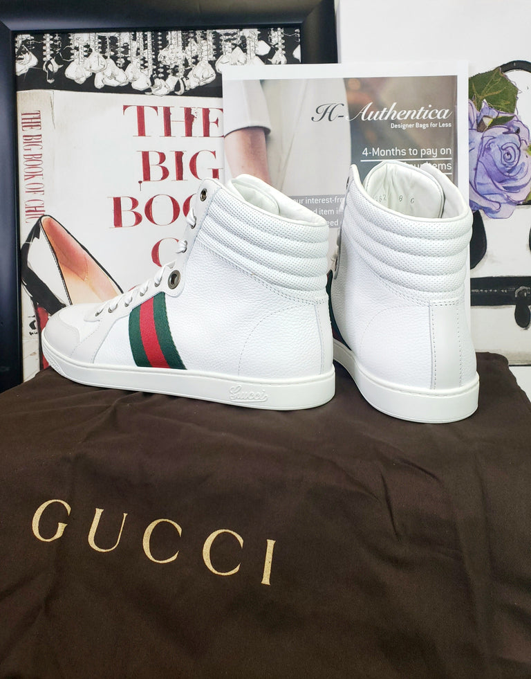 Gucci White Coda High Top
