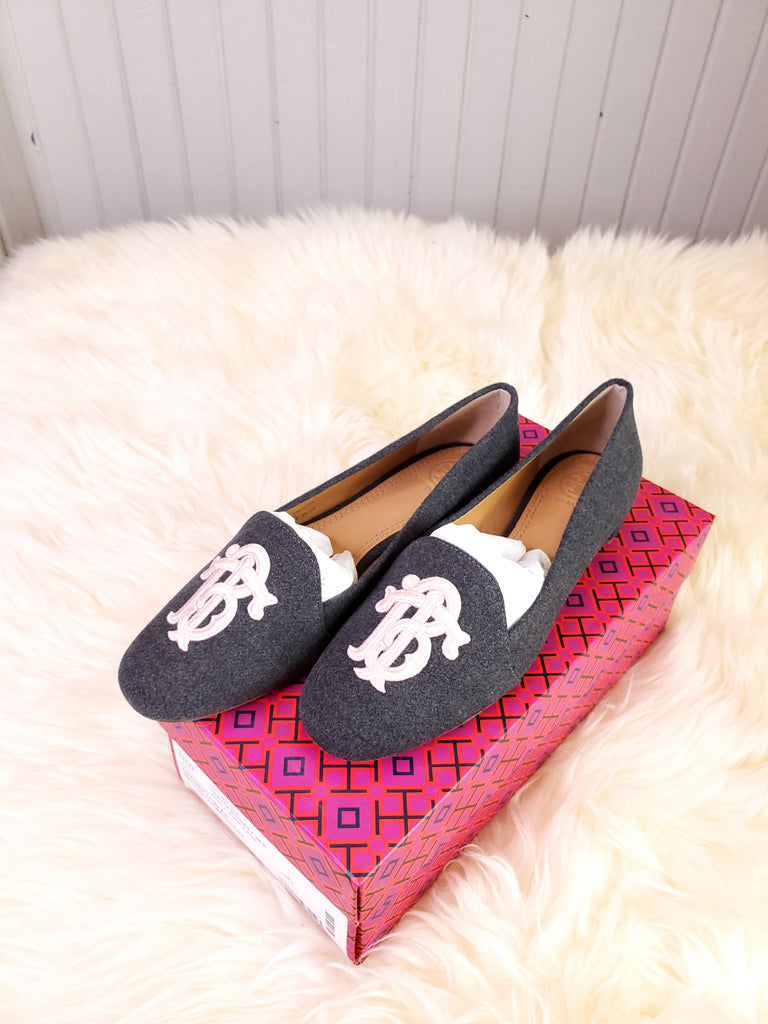 Tory Burch Antonia Loafer Gray