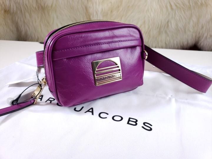 Marc Jacobs Leather Sport Belt Bag