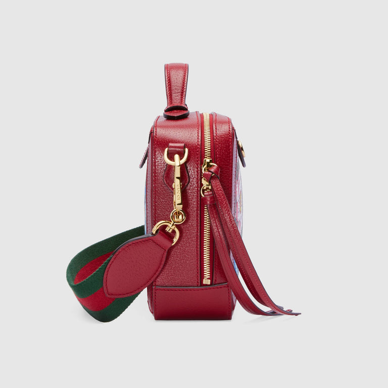 Gucci Ophidia GG Flora small shoulder bag