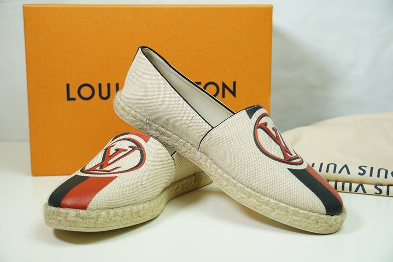Louis Vuitton Postcard Espadrille Shoes