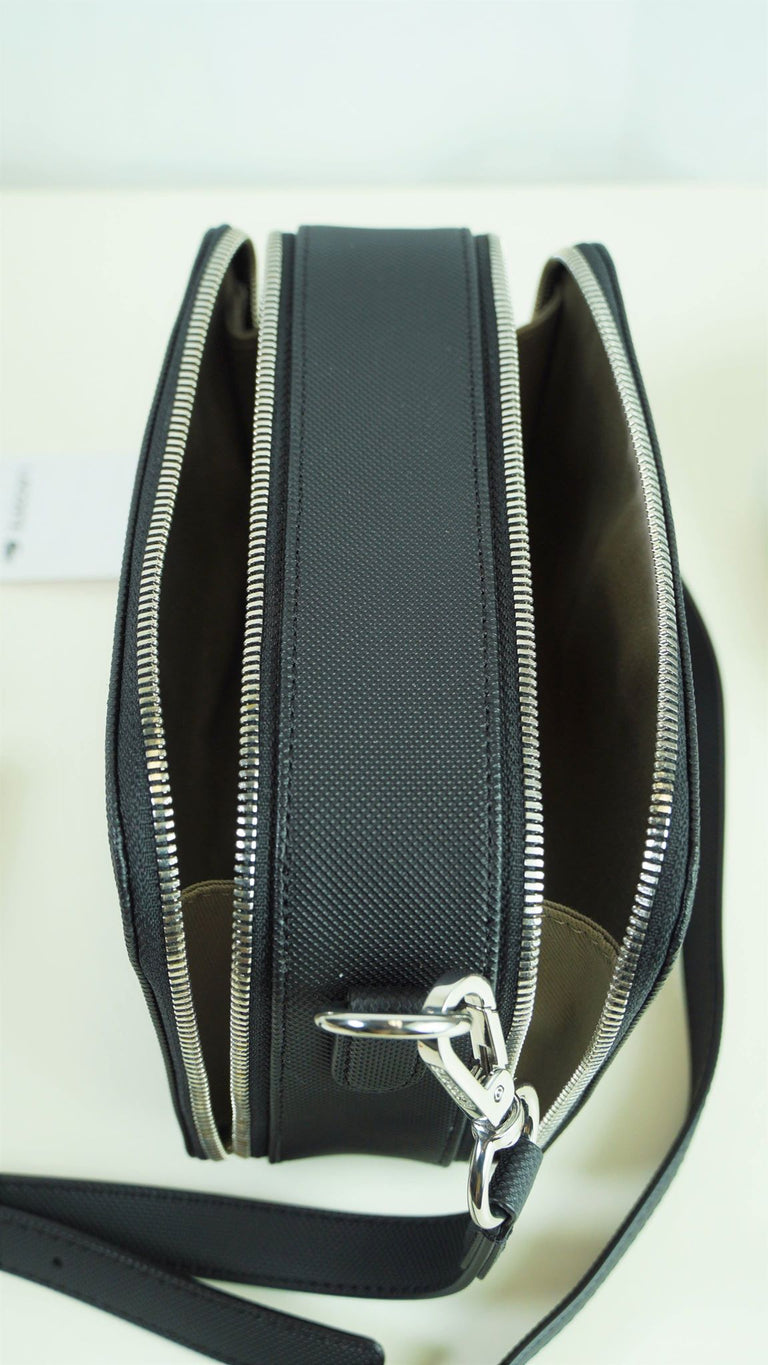 Lacoste Double Zip Crossover Bag