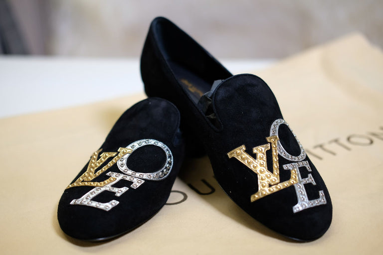 Louis Vuitton Love Loafers Shoes