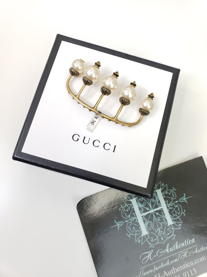 GUCCI ACCESSORIES MULTI FINGER RING IN