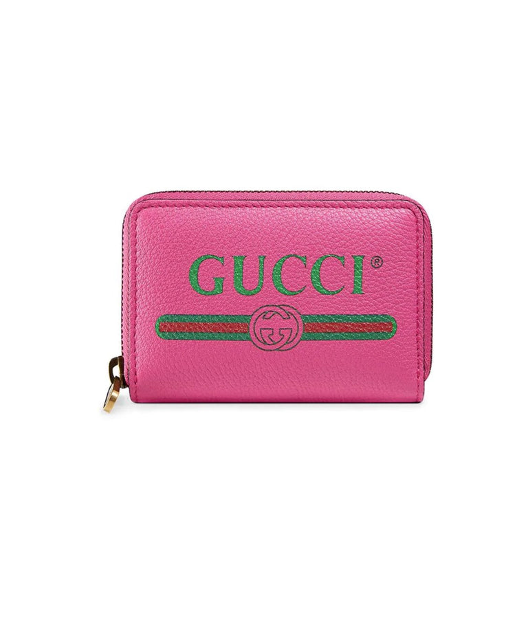 Gucci Print Leather card case SS20