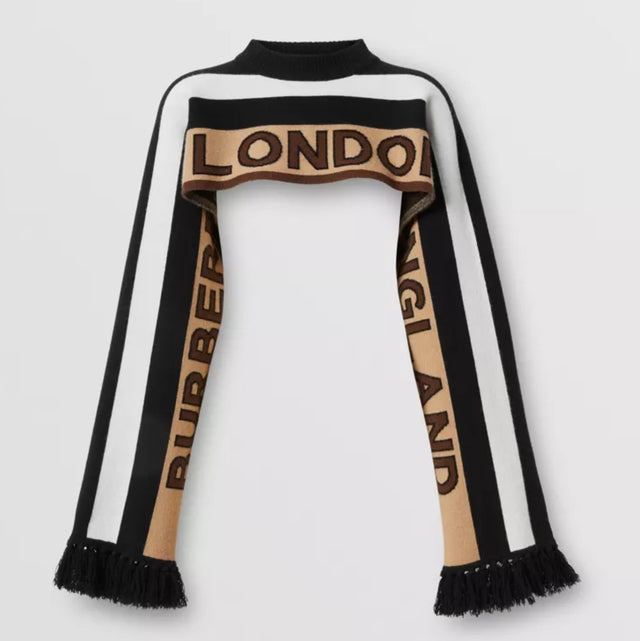 Burberry Cashmere with sleeve (3 way scarf)